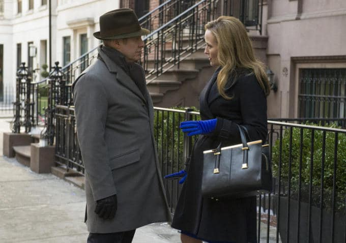 James Spader and Jennifer Ehle in The Blacklist