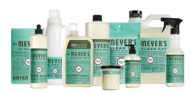 Giveaway: win a full set of Mrs. Meyer's products plus a bonus set for a friend.