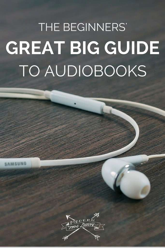 Many readers want to try audiobooks, but are intimidated by the process of getting started. The beginners' great big guide to audiobooks is for you.