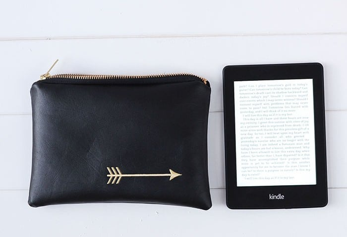 Win a Kindle Paperwhite and a custom pencil pouch from Lucy Jane Totes.