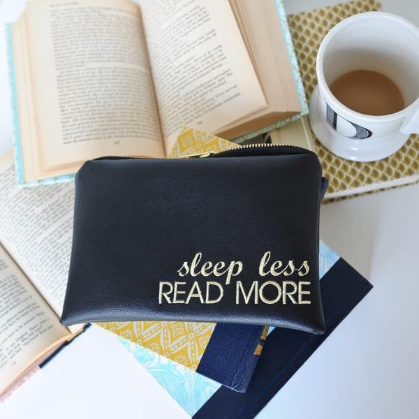 sleep less read more