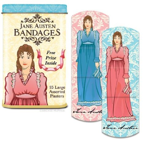 Jane Austen bandages