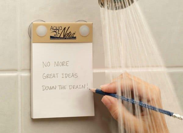 aqua notes waterproof note pad