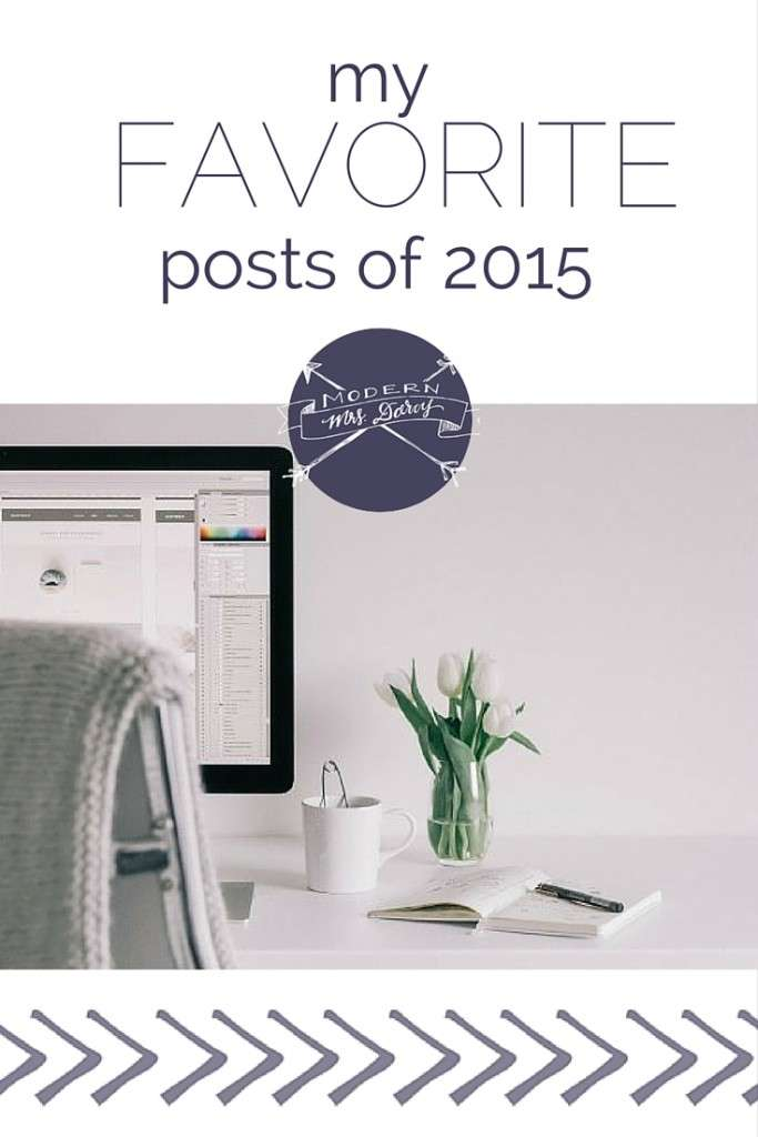 my favorite posts of 2015