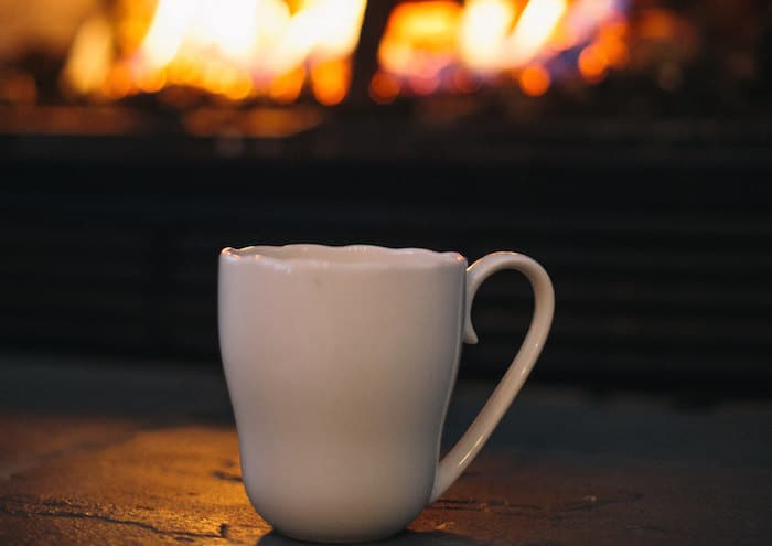 tea by the fireside