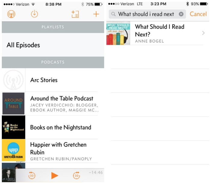 how to subscribe to a podcast overcast