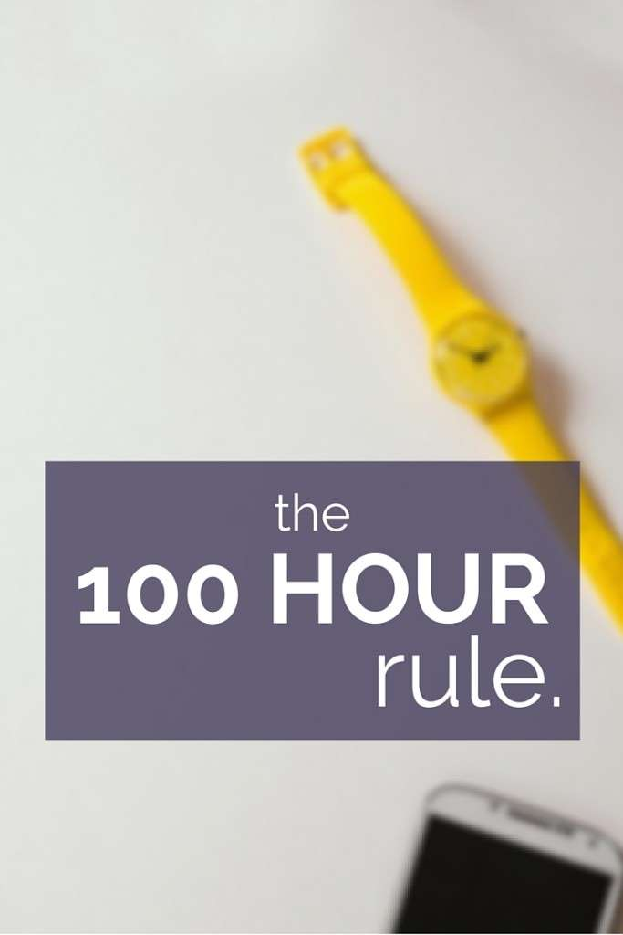 For most disciplines, it only takes one hundred hours of active learning to become much more competent than an absolute beginner. The 10,000 hour rule is based on becoming the best of the best. But, for most of us, we only need that 100 hours.