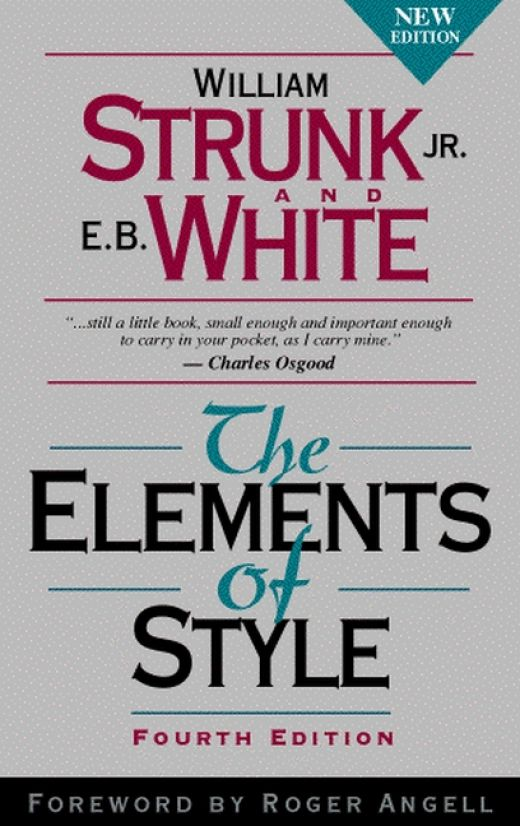 "a review of the rules of the english language in the elements of style a book by william strunk juni 53 ""avestan literature"" in: ronald e emmerick and maria macuch (ed), the literature of pre-islamic iran companion volume i to a history of persian literature."