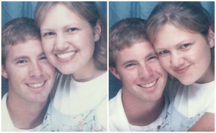 Will and Anne photobooth 1997
