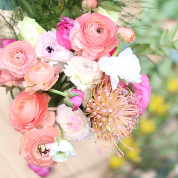 ranunculus grove flower farm girl