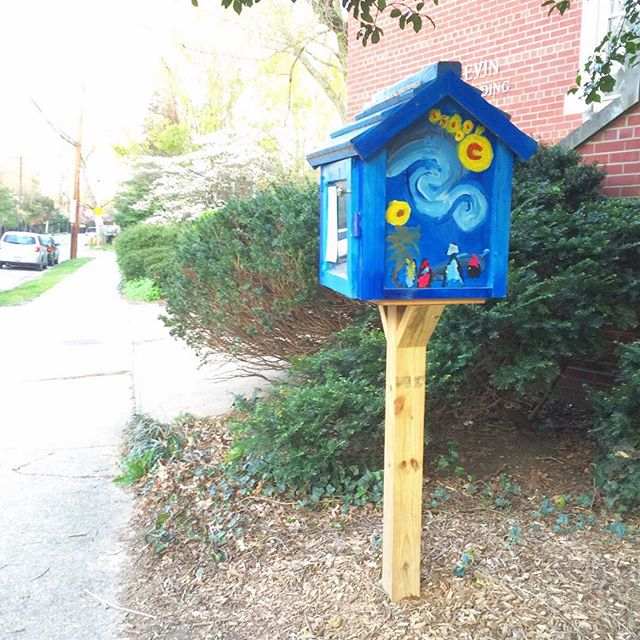 little free library date night