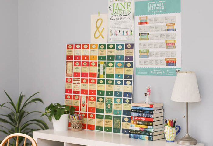 Quick and easy Penguin Classics poster DIY