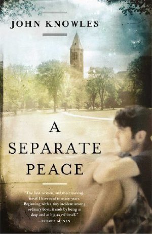 an analysis of john knowles book a separate peace An analysis of john knowles an analysis of the novel a separate peace a separate peace brings up the theme of man's inhumanity to his fellow man the first war is the.