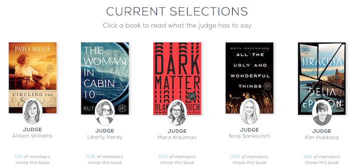 BOTM August selections
