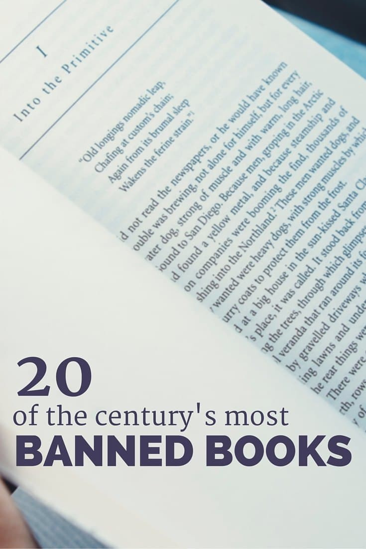 20 of the century's most banned books