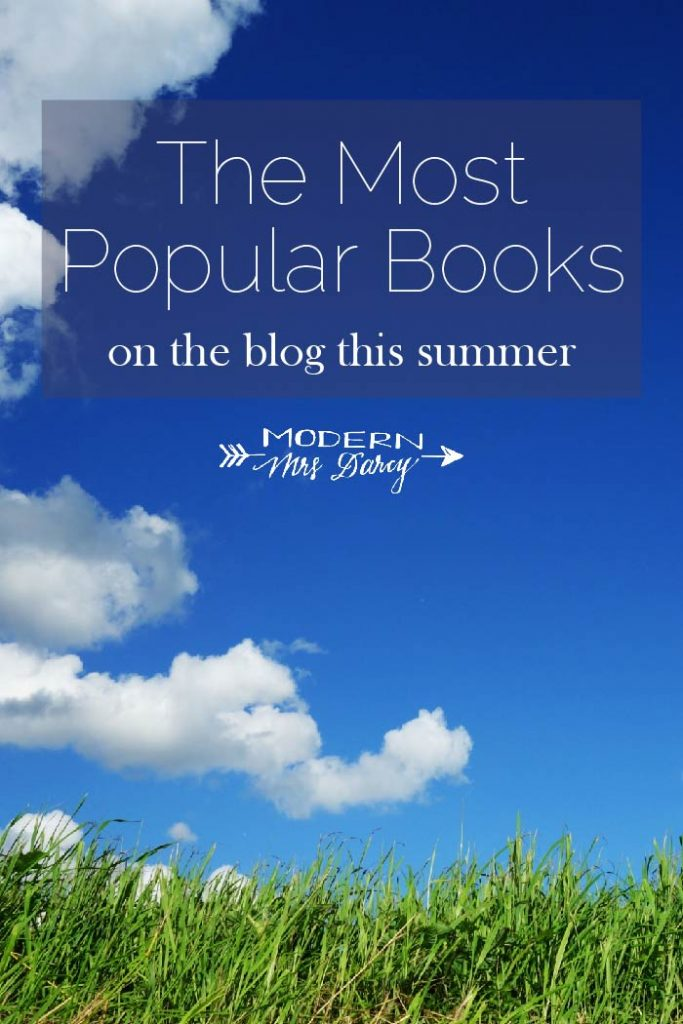 The Most Popular Books on the Blog this Summer