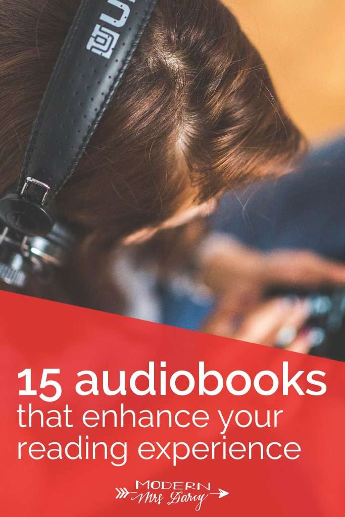 audiobooks enhance the reading experience