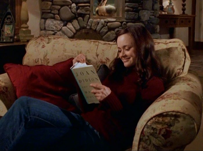 from Princeton rory gilmore reading is sexy