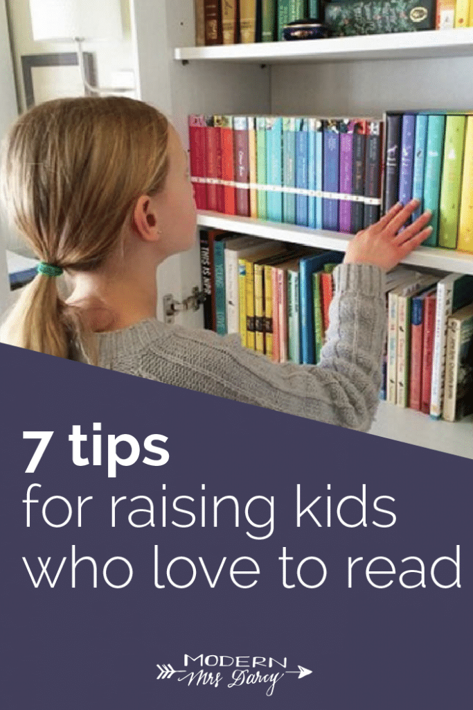 7 tips for raising readers
