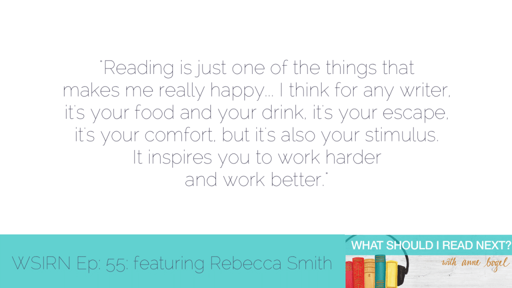 What Should I Read Next #55: Choosing contemporary fiction with staying power for Jane Austen's 5x great niece Rebecca Smith