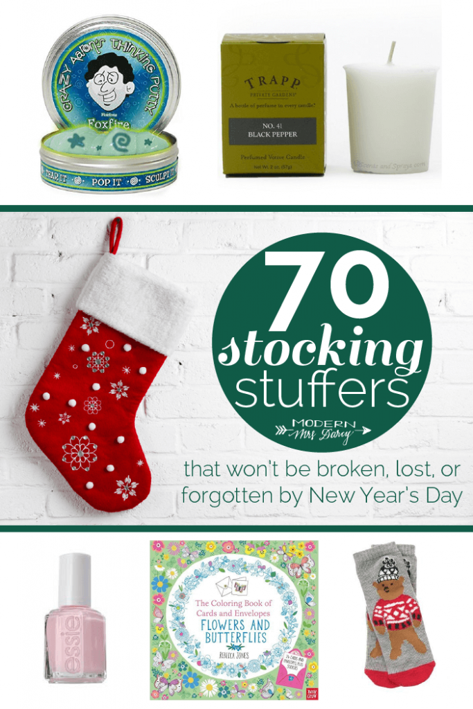 70 Stocking Stuffers
