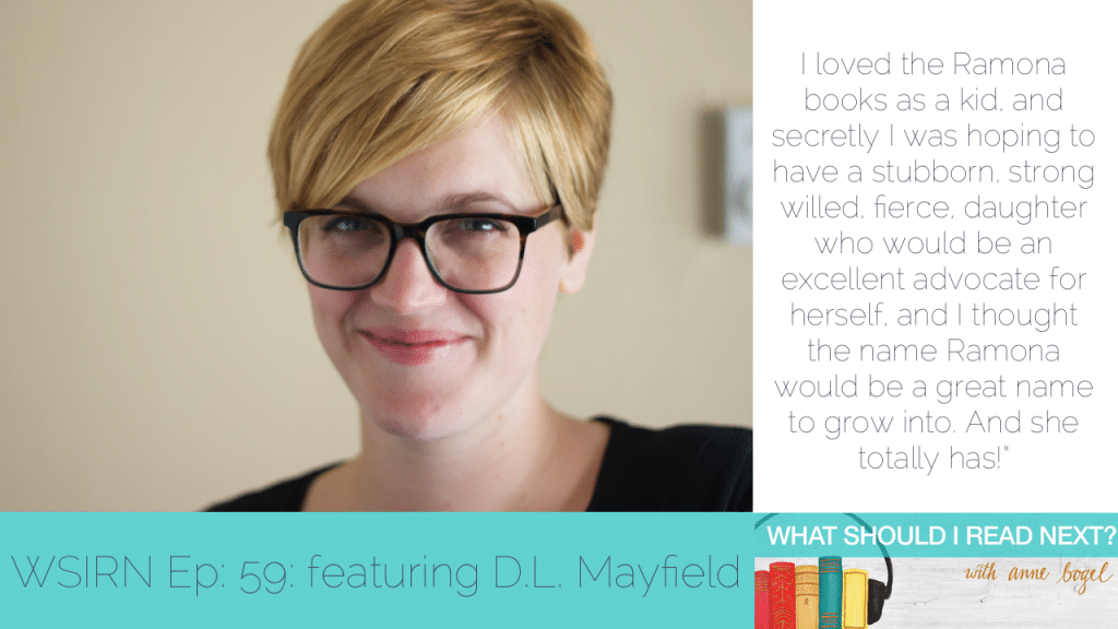 What Should I Read Next #59: Prescribing books for what ails you with Danielle Mayfield