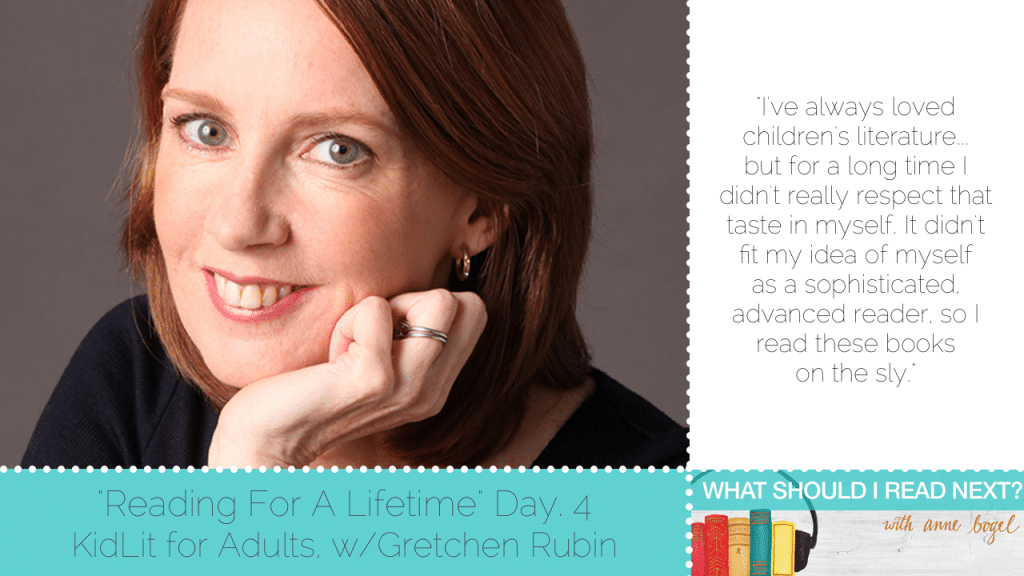 What Should I Read Next #52: There's nothing better than a great book with Gretchen Rubin
