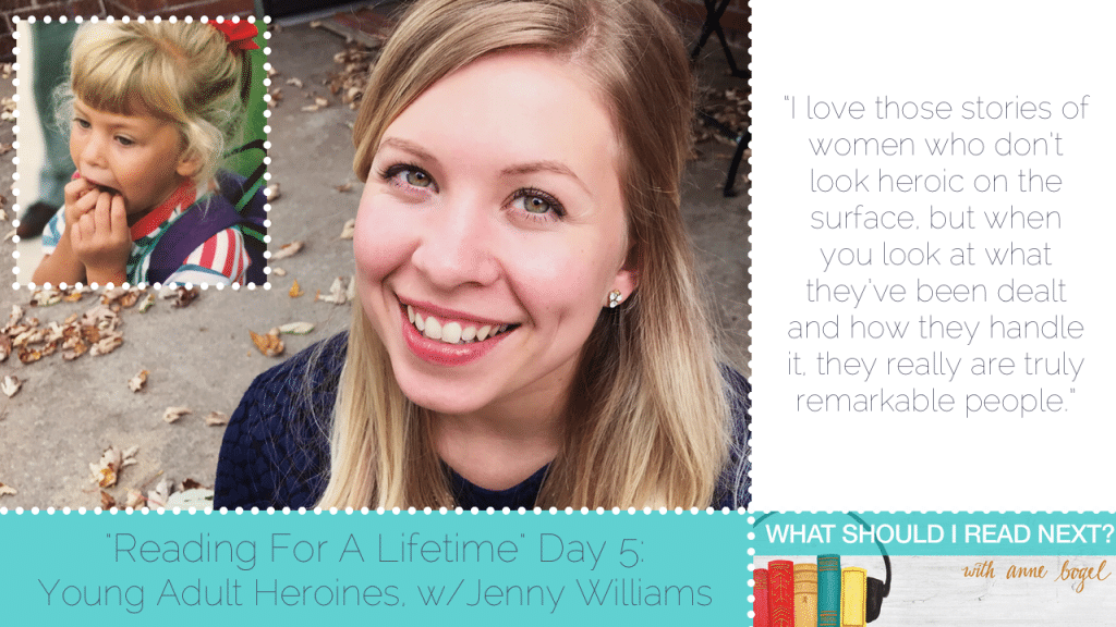 What Should I Read Next #53: The best of literary heroines with Jenny Williams