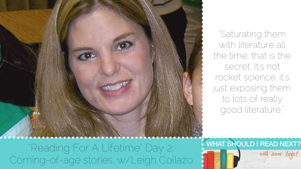 What Should I Read Next #50: Growing up with the help of a good book with Leigh Collazo