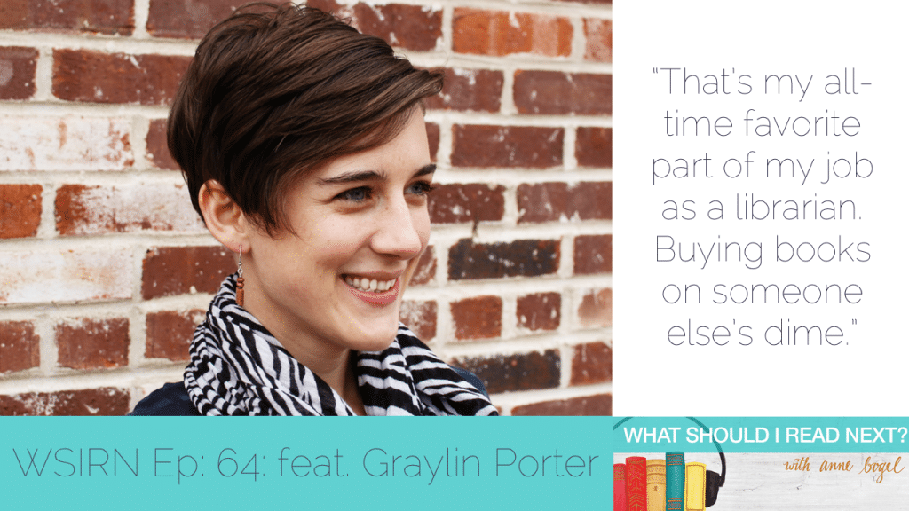 What Should I Read Next #65: The joy of buying books on someone else's dime with Graylin Porter