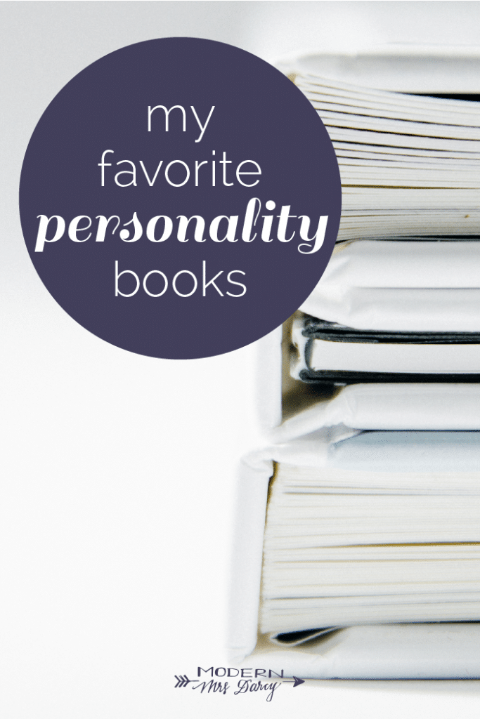 My favorite personality books