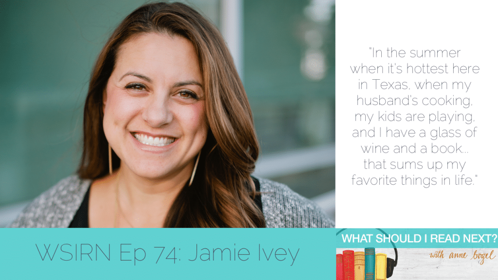 What Should I Read Next #74: Finally falling in love with reading - at 30! with Jamie Ivey