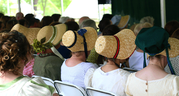 Mark your calendars for the 9th annual Jane Austen Festival!