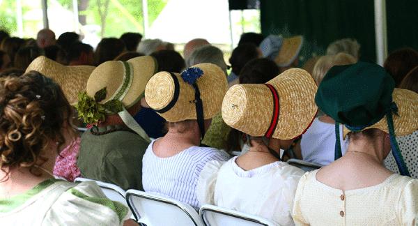 Mark your calendars for the 9th annual Jane Austen Festival!