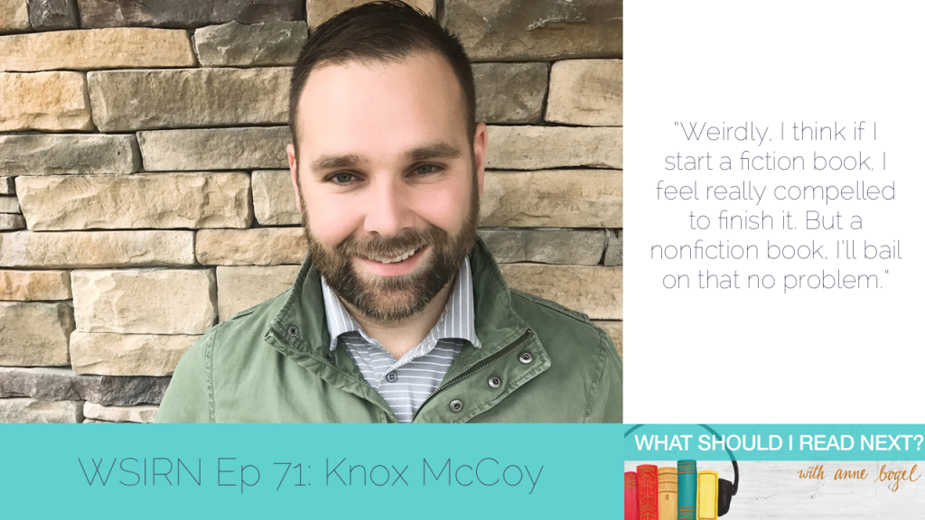 What Should I Read Next #71: A super-elegant apocalypse with Knox McCoy