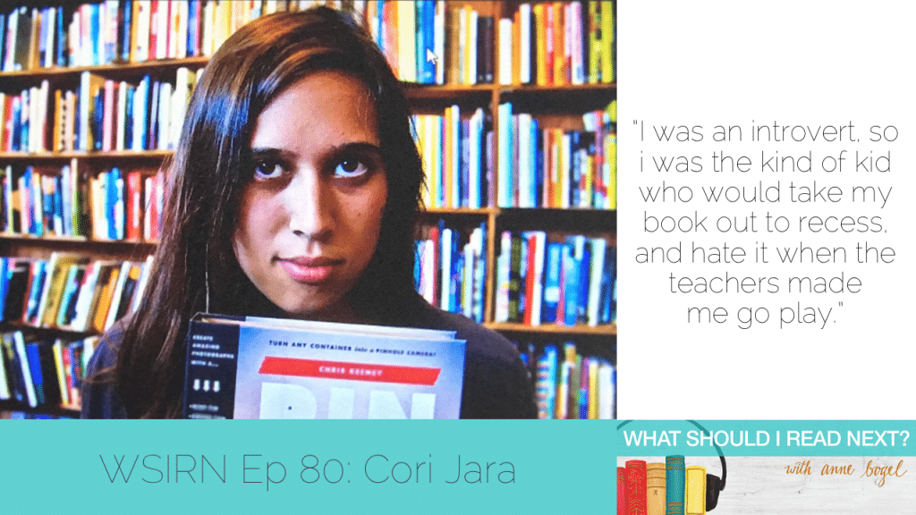 What Should I Read Next #80: Books that make you want to skip dinner, work, and the rest of your life with Cori Jara