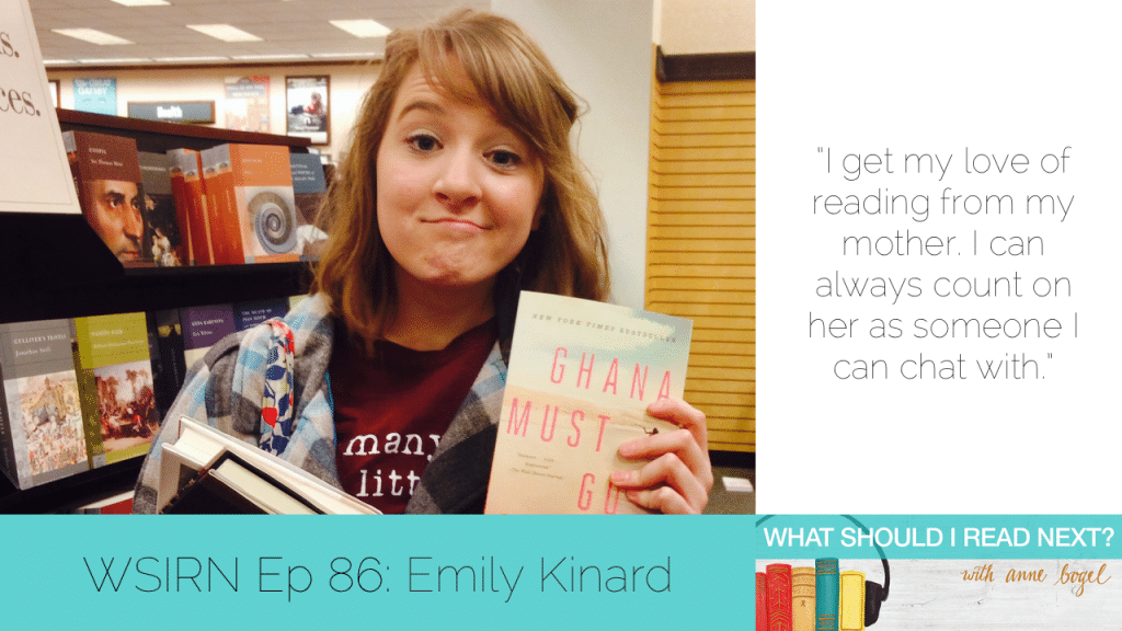 What Should I Read Next #86: Eclectic tastes, slow readers, and talking about books with strangers with Emily Kinard