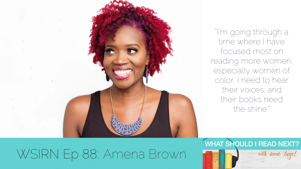 What Should I Read Next #88: Overlooked books that deserve to shine with Amena Brown