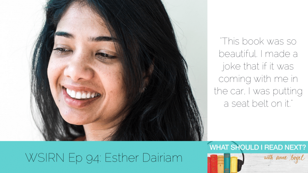 What Should I Read Next #94: Paris epiphanies (and other bookish destinations) with Esther Dairiam