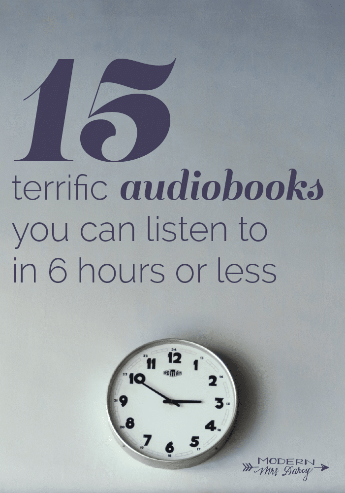 audiobooks under 6 hours