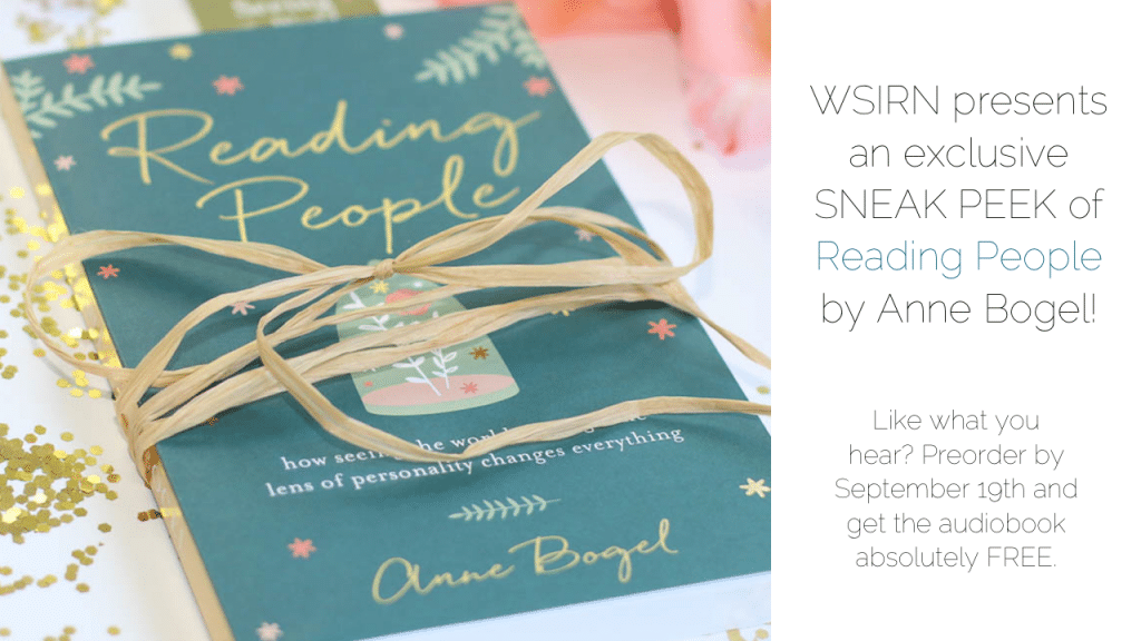 What Should I Read Next #96: Listen to Anne read Chapter 1 of READING PEOPLE!