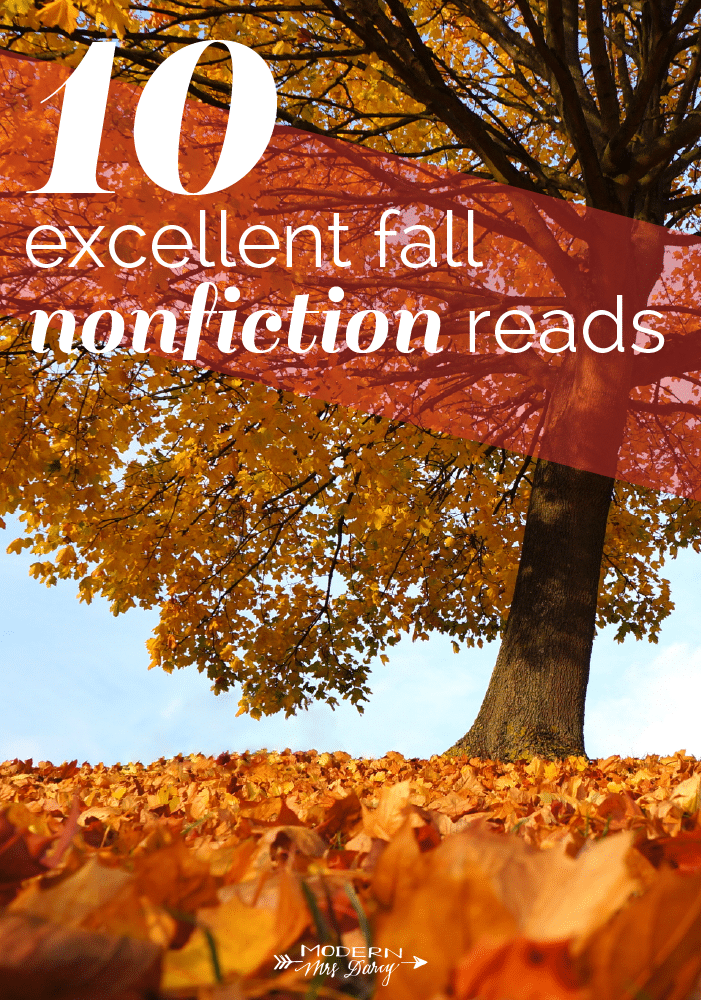 10 excellent fall nonfiction reads