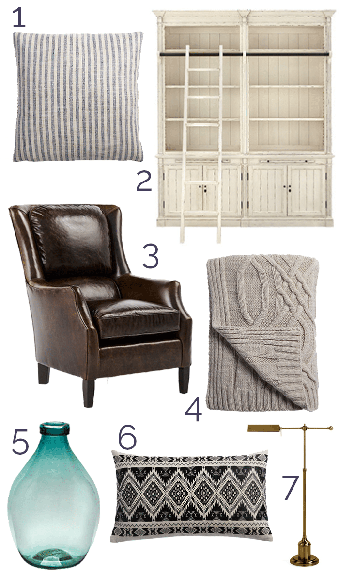 5831832d50 Our cozy and inviting reading areas for fall (plus an Arhaus ...