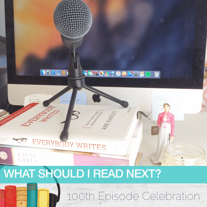 What Should I Read Next #101: What I wish I'd known before starting a books and reading podcast (100 episodes later)
