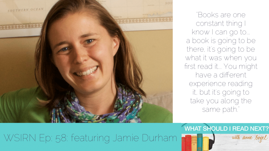 "What Should I Read Next #58: ""You've hit your hold limit"" and other disasters with Jamie Durham"