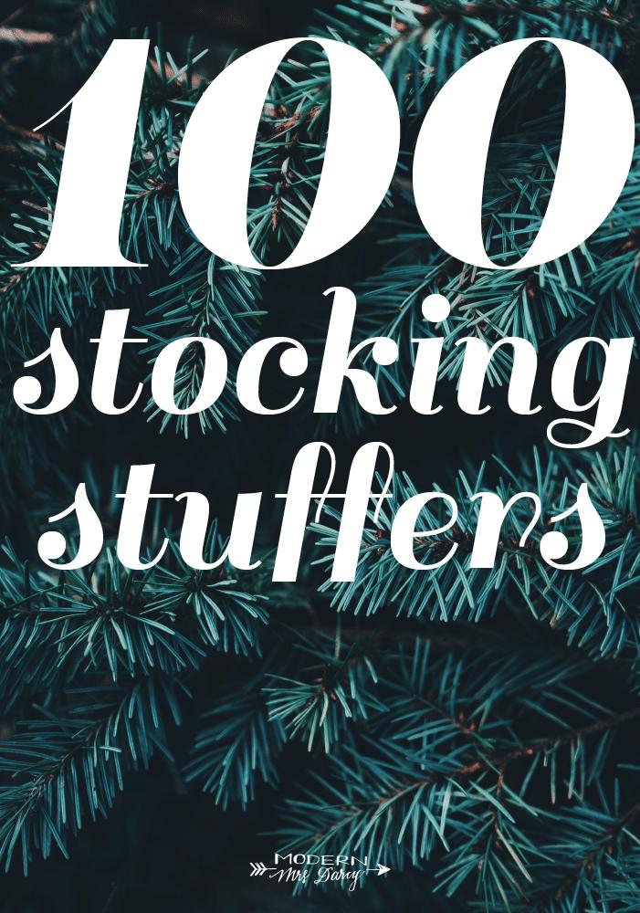 100 stocking stuffers