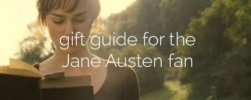 gift guide jane austen fan