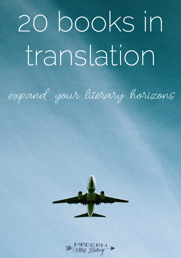 20 books in translation to expand your literary horizons
