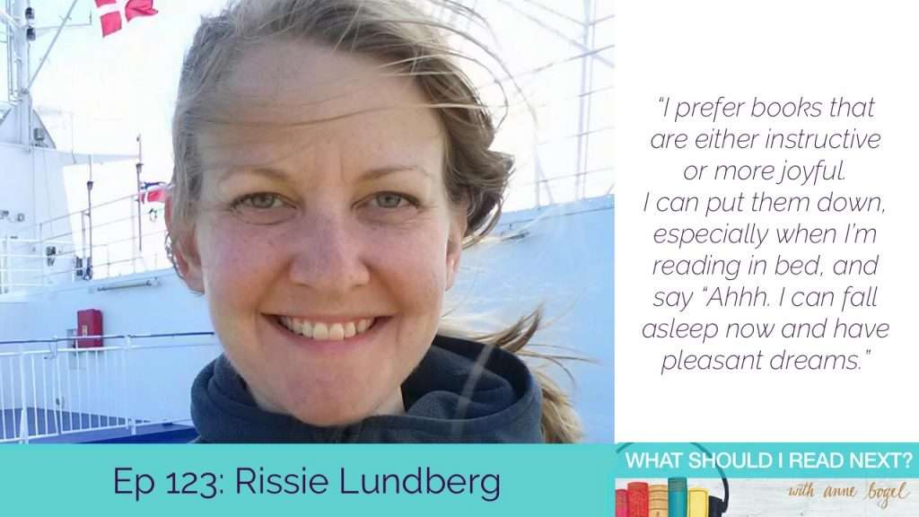 What Should I Read Next #123: Books that will totally make you cry (with laughter) with Rissie Lundberg