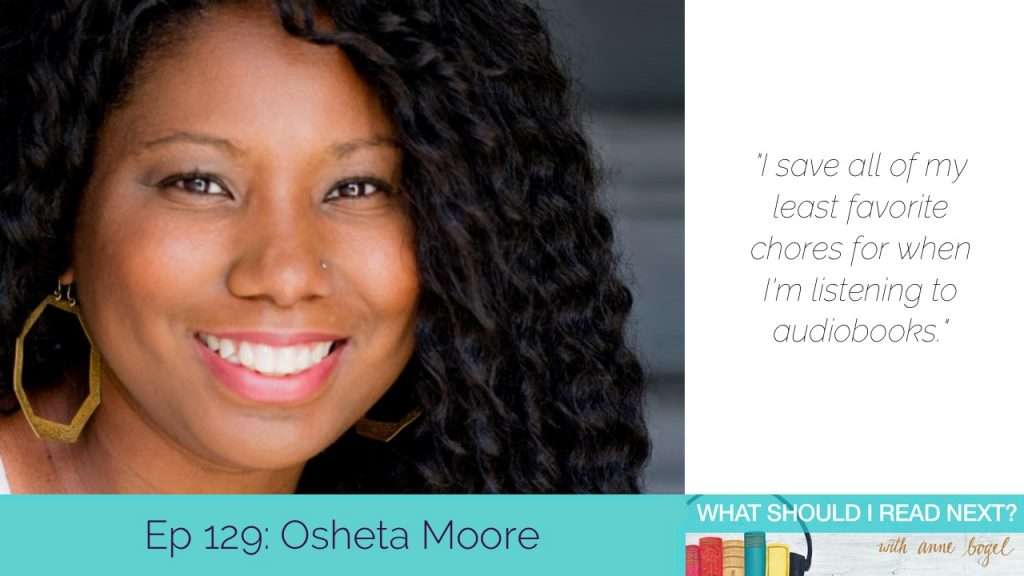 What Should I Read Next #Tips and tricks for distracted readers (and listeners) with Osheta Moore